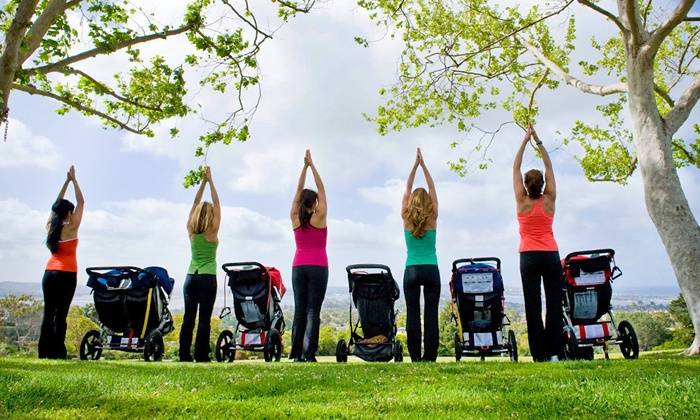 Fit4Mom - Multiple Locations: $39 for 10 Stroller Strides Classes at Fit4Mom ($80 Value)