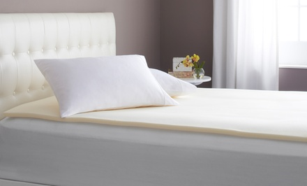 1'' Memory-Foam Topper. Multiple Sizes Available from $34.99 to $39.99.