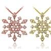 Diamond Accent Snowflake Pendant
