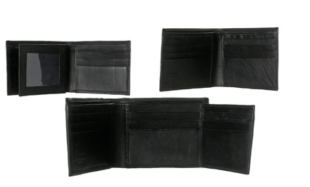 Republic Men's Leather Wallets. Multiple Options Available.