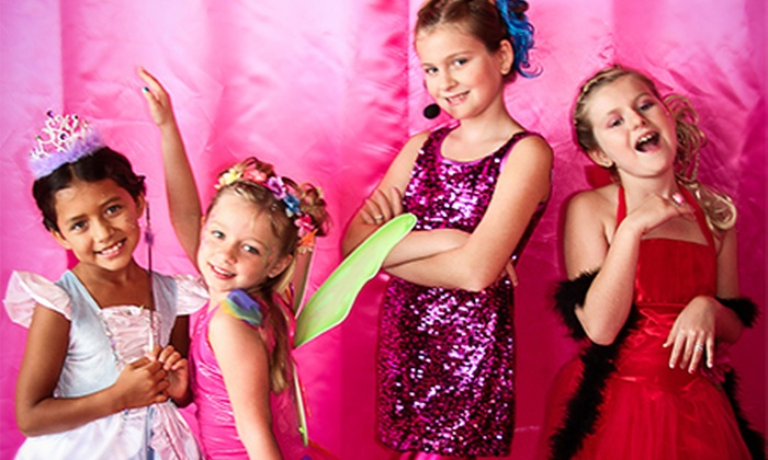 Sweet & Sassy - Novi: Cotton Candy Girls' Spa Package with Optional Haircut and Blowout at Sweet and Sassy (Up to 53% Off)