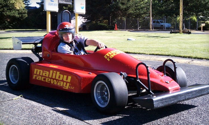 Malibu Raceway - Greenway: $15 Toward Go-Kart Racing or Batting Cages