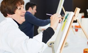 Canvas Gypsy: Two-Hour Painting Class for One or Two at Canvas Gypsy (Up to 53% Off)