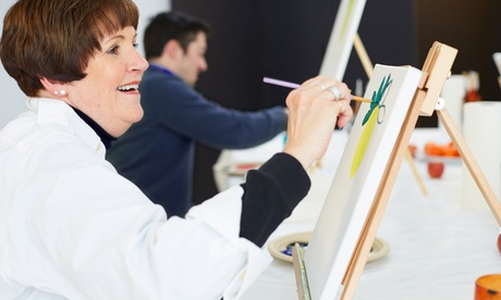 $99 for Four Painting Classes with Supplies at Emerson Art School ($185 Value)