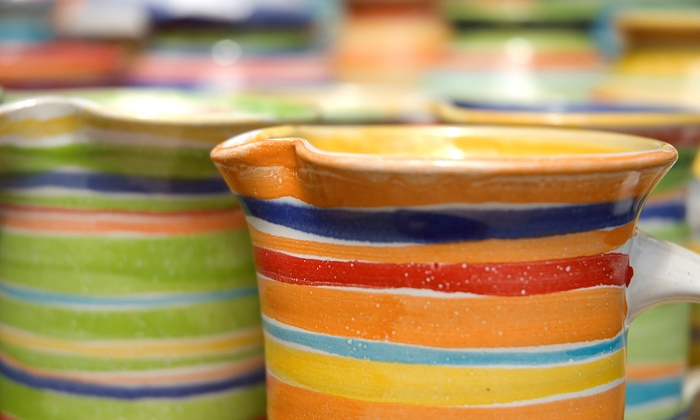 Dallas Handmade Arts Market, Inc - Fort Worth Handmade Arts: Pottery Class for One, Two, or Four at Dallas Handmade Arts Market, Inc (Up to 51% Off)