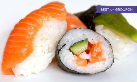 Japanese Food, Hibachi, and Sushi for Dine-In or Carryout at Miyako Sushi & Steakhouse (Up to 43% Off)