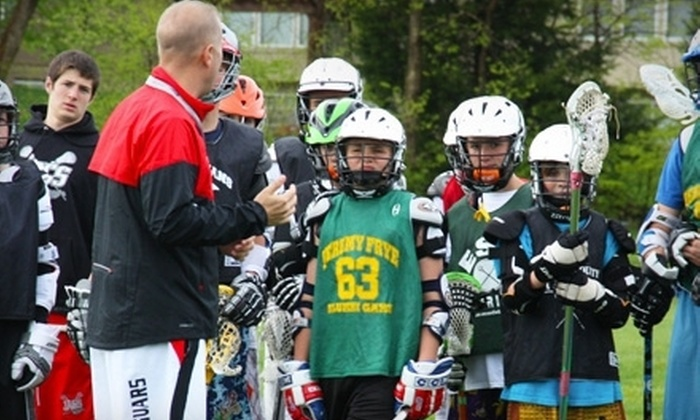 ESB Lacrosse - Multiple Locations: $79 for a Five-Week Lacrosse Clinic with a Lacrosse Stick at ESB Lacrosse ($160 Value)
