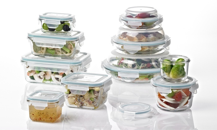 Lovely Glasslock Food Storage Container Sets | Groupon