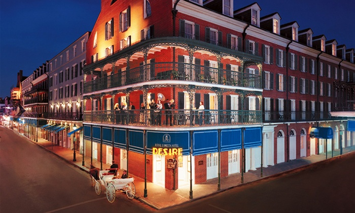 4-Star Top-Secret New Orleans Hotel - New Orleans: Stay at Royal Sonesta New Orleans in New Orleans, LA. Dates Available into November.