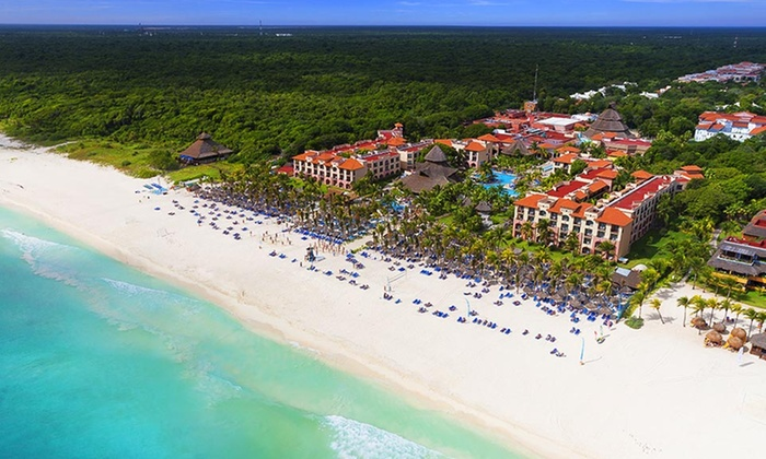 All inclusive sandos playacar riviera hotel stay with for Worry free vacations all inclusive