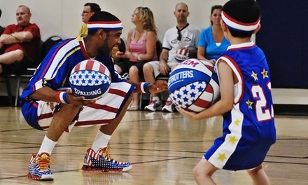 $66 for a Two-Hour Kids' Harlem Globetrotters Basketball Clinic, Backpack, and Ticket to a 2015 Game (Up to $110 Value)