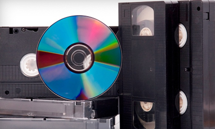 AMR Productions - Novato: $40 for $100 Worth of Video-Transfer Services at AMR Productions in Novato