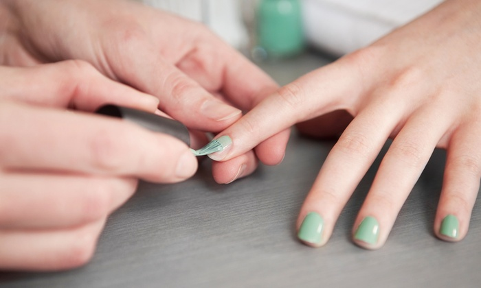 Esthetics by Sam - Warman: One or Two Mani-Pedis, or One Gel Manicure and Pedicure at Esthetics by Sam (Up to 61% Off)