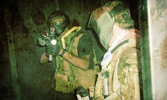 SAS Black Ops LLC - Marietta: Airsoft Arena Outing for Two with Optional Gear Rental or Four with Gear Rental at SAS Black Ops LLC (Up to 70% Off)