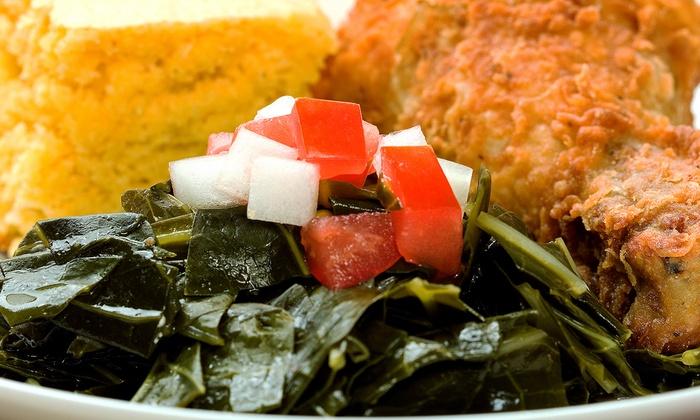 Georgia Soul Food - Charles Village: Southern Soul Food for Two or Four at Georgia Soul Food (50% Off)