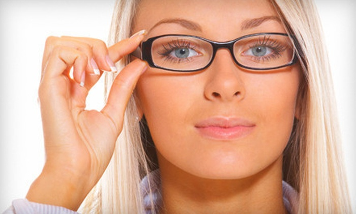 EyeStop - Phoenix: $59 for Two Pairs of Designer Frames with Lenses and Eye Exam at EyeStop ($247 Value)