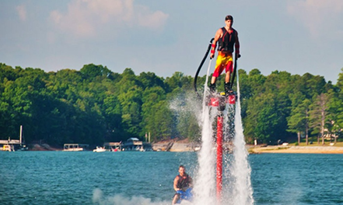Flyboard Atlanta - Flowery Branch: 30-Minute Flyboard Session on a Weekday or Weekend from Flyboard Atlanta (Up to 57% Off)