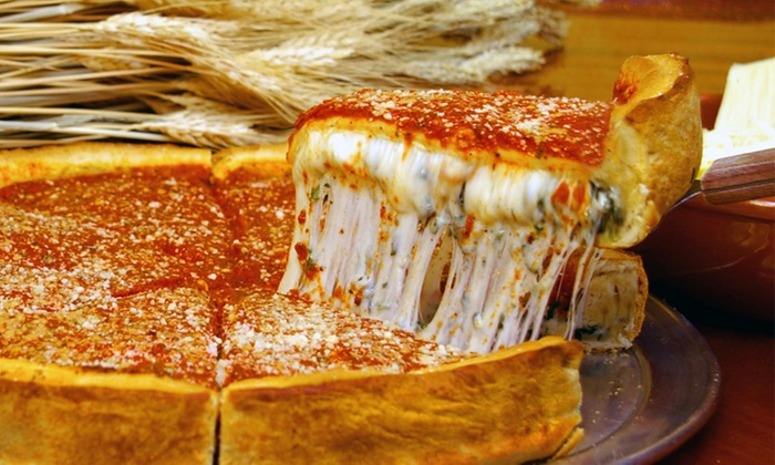 Chicago's Pizza - Lakeview - Lakeview: $13 for $20 Worth of Pizza at Chicago's Pizza Lakeview