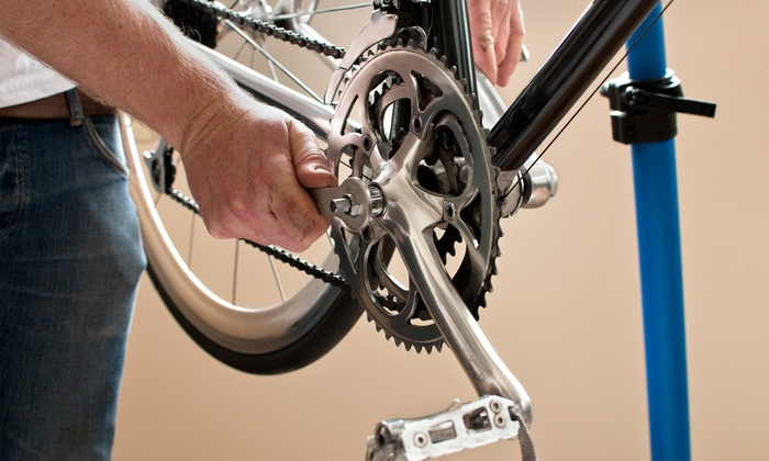 The Bike Shop - East Aurora: Standard, Advanced, or Gold Standard Bicycle Tune-Up at The Bike Shop (Up to 57% Off)