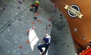 Kletterhalle Dellbrück: 60 Min. Einsteiger-Kletterkurs inkl. Leihausrüstung für Zwei in der Kletterhalle Dellbrück für 29,90 € (50% sparen*)