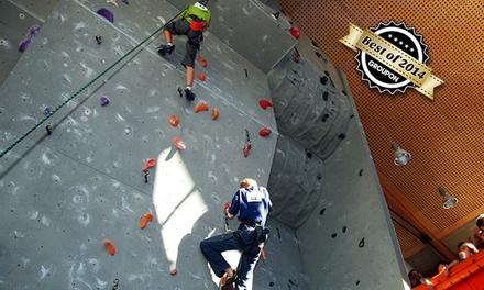 60 Min. Einsteiger-Kletterkurs inkl. Leihausrüstung für Zwei in der Kletterhalle Dellbrück für 29,90 € (50% sparen*)