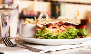 Cafe Liberty: Cafe Fair from Cafe Liberty (40% Off). Two Options Available.
