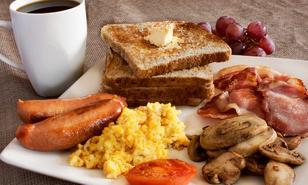 Breakfast or Lunch with a Drink: One $10, Two $19 or Four People $29 at New Leaf Cafe Up to $86 Value