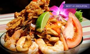 Deejai Thai Restaurant: Thai Cuisine and Sushi at Deejai Thai Restaurant (Up to 45% Off)