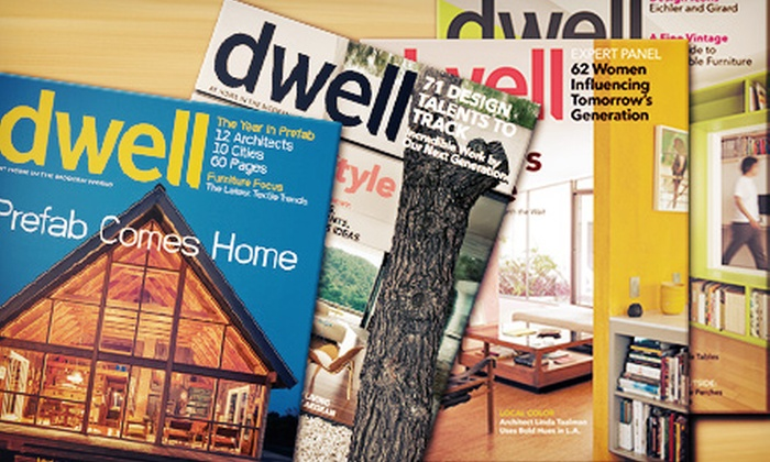 Dwell Media: 12-Month Subscription to Dwell Magazine with Optional Admission to Dwell on Design Show (Half Off)