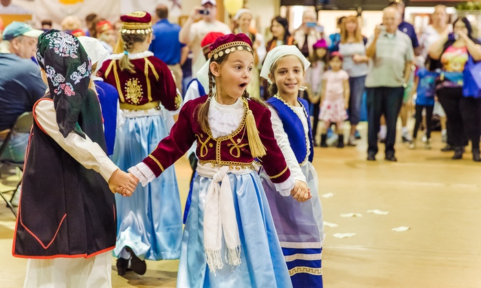 Tampa Greek Festival - Parkland Estates: Single-Day Entry and Drinks for Two or Four Adults to Tampa Greek Festival on November 6–8 (Up to 44% Off)