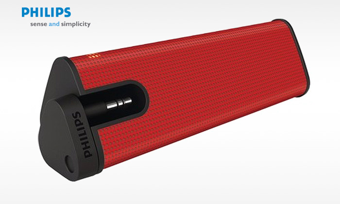 Rs.899 for a Red Philips Speaker for Mobiles