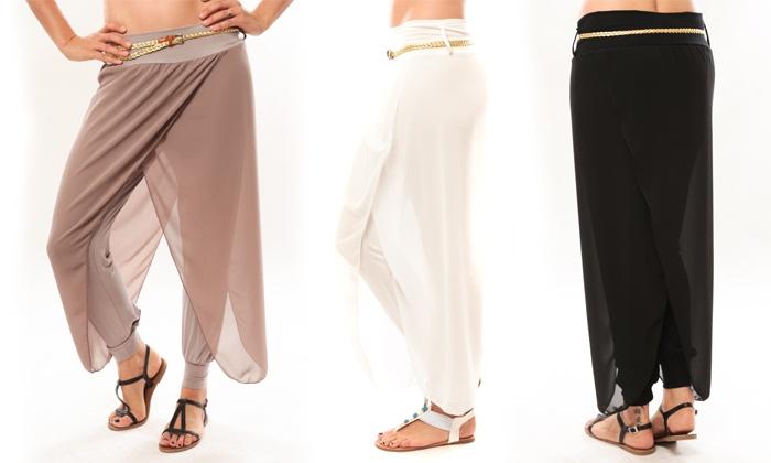 Pantalon Voile Groupon Shopping