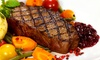 Frank's Steaks - Jericho: Steakhouse Dinner for Two or Four at Frank's Steaks (Up to 41% Off)