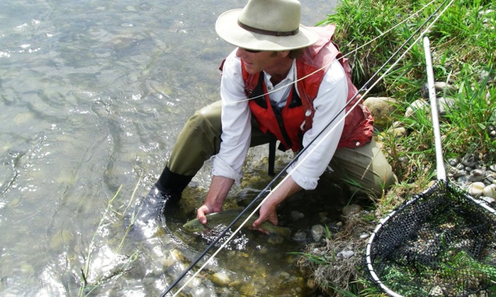 Foot & Chain Fly Fishing Exchange - Northeast Calgary: C$399 for a Full-Day, All-Inclusive Fishing Trip for Two from Foot & Chain Fly Fishing Exchange (C$485 Value)