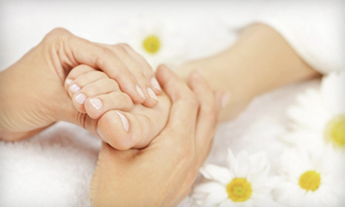 Alora Ambiance Spa - Multiple Locations: One or Three Foot-Reflexology Massages at Alora Ambiance Spa (Up to 61% Off)