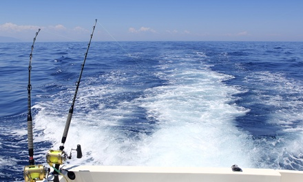 $499 for a Four-Hour Nearshore and Inshore Fishing Charter for Six from Gulf Coast Charters ($999 Value)