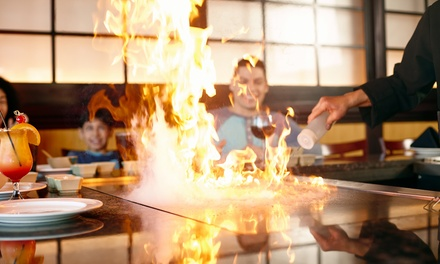Sushi and Steak-House Food at Saga Hibachi Steakhouse & Sushi Bar - Massapequa (48% Off). Two Options Available.
