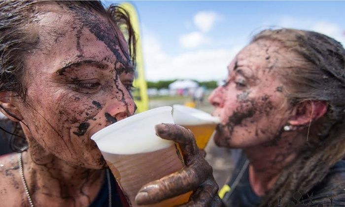 Mingle de Mayo - North Miami: 5K or 10K Entry for One to Mingle de Mayo Mud Run on Saturday, May 3 (Up to 51% Off)