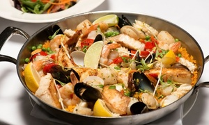 Bongos Cuban Café: Cuban Dinner for Two or Four with Cocktails, Appetizers, and Entrees at Bongos Cuban Café (Up to 40%Off)