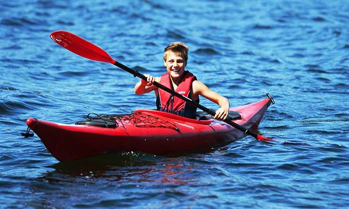 Saskatoon Racing Canoe Club - Victoria Park Boathouse: Youth Kayak Day Camp or Youth Learn-to-Kayak Program at Saskatoon Racing Canoe Club (Up to 56% Off)