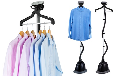 Salav GS34-BJ Performance Garment Steamer with Swiveling Multihook Hanger