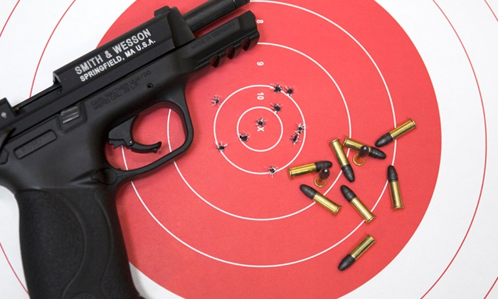 Shoot Smart - Multiple Locations: Shooting-Range Outing for Two or Four at Shoot Smart (Up to 51% Off)
