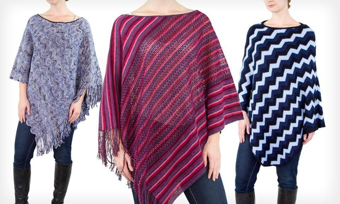 Missoni Women's Poncho: Missoni Women's Poncho (Up to 87% Off). Multiple Styles Available. Free Shipping.