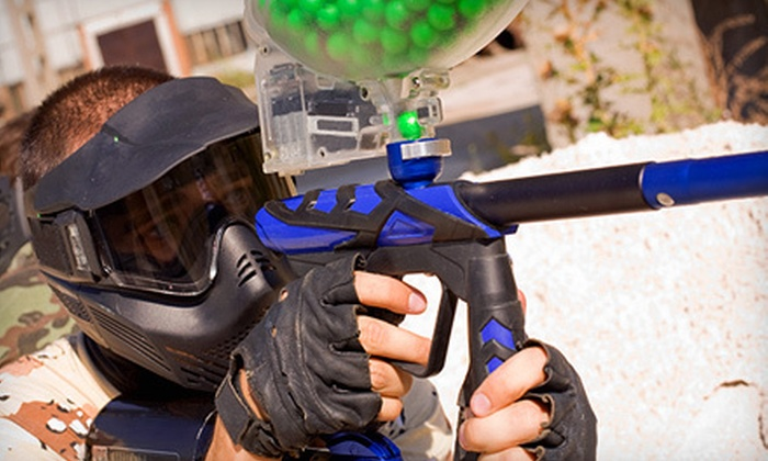 Flag Raiders - Victoria North: All-Day Paintball Outing for One, Two, or Four at Flag Raiders (Up to 60% Off)