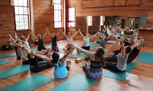 Heartwood Yoga: Yoga, Writing, Workshop, and Training Classes at Heartwood Yoga (Up to 55% Off)