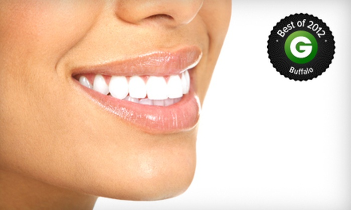 New Image - Amherst: One or Two Teeth-Whitening Treatments at New Image (Up to 83% Off)