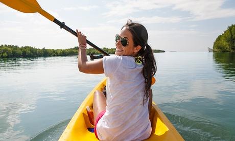 Descenso en canoa de la Ría San Martín para dos personas por 26,90 €
