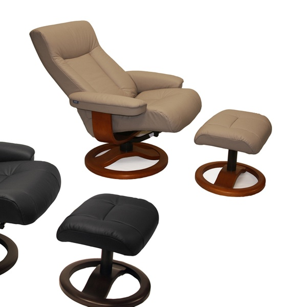 Super Scansit 110 Large Leather Recliner And Ottoman By Hjellegjerde Multiple Styles Available Ocoug Best Dining Table And Chair Ideas Images Ocougorg