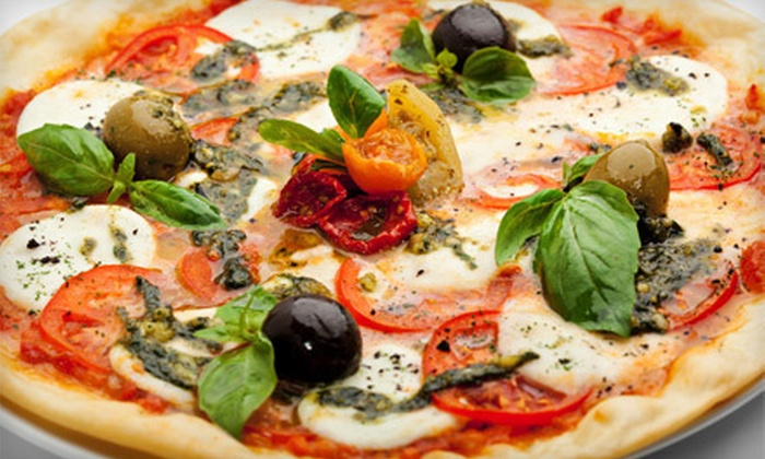 Giorgio's Wine Bar - Upper East Side: $26 for Italian Meal for Two with Two Personal Pizzas and a Bottle of Wine at Giorgio's Wine Bar (Up to $73.90 Value)