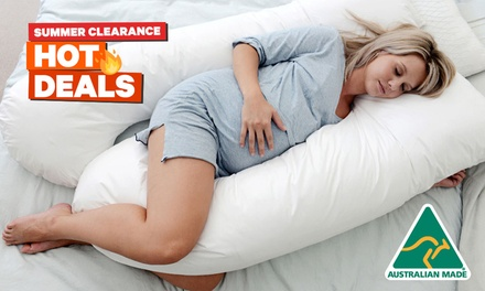 $39 for a Maternity Pregnancy Support Body Pillow (Don't Pay $99)